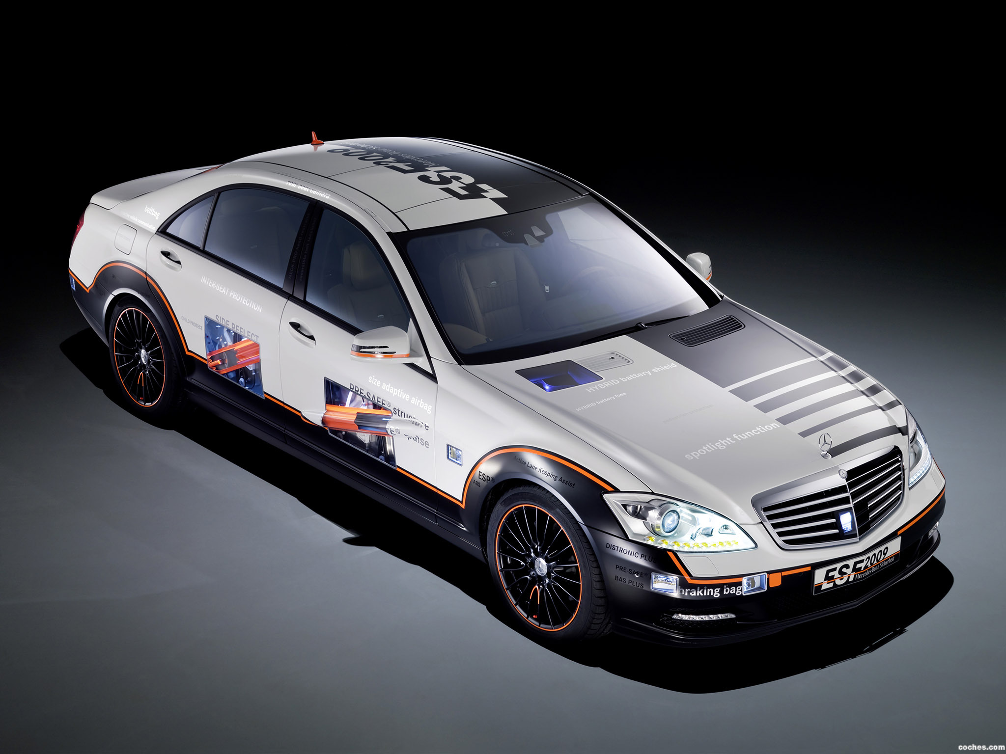 Foto 0 de Mercedes Clase S ESF Experimental- Safety Vehicle 2009