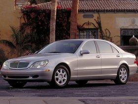 Ver foto 9 de Mercedes S-Klasse Lang W220 1998