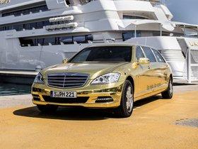 Ver foto 2 de Mercedes Clase S Pullman Festival de Cannes W221 2012