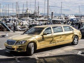 Fotos de Mercedes Clase S Pullman Festival de Cannes W221 2012