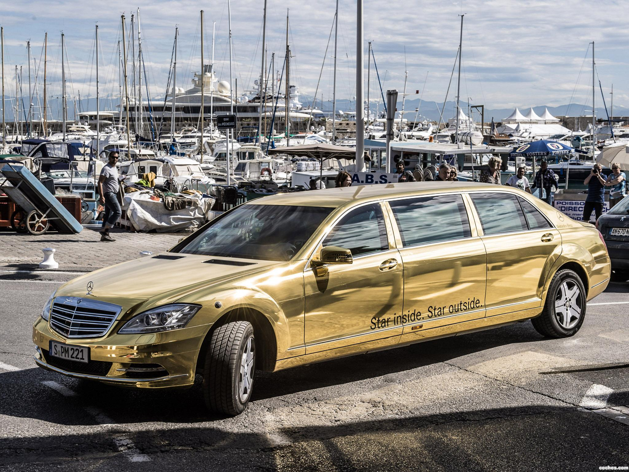 Foto 0 de Mercedes Clase S Pullman Festival de Cannes W221 2012