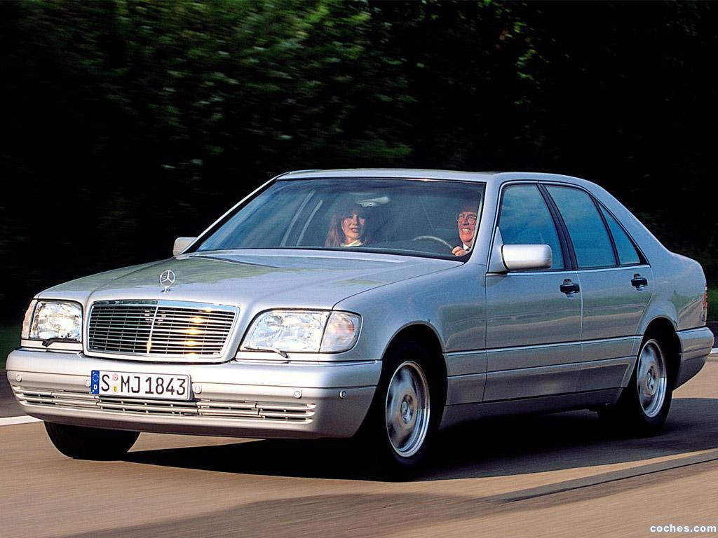 Foto 0 de Mercedes S-Klasse S300 Turbodiesel W140 1996