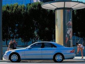 Ver foto 6 de Mercedes S-Klasse S320 W220 1998