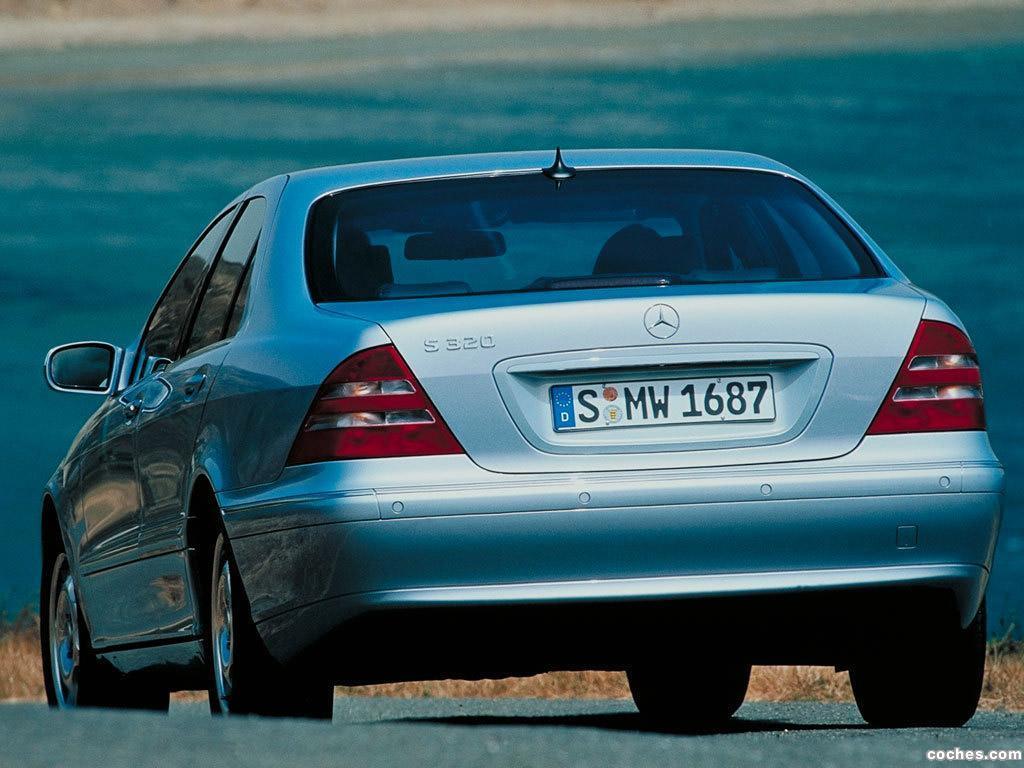 Foto 19 de Mercedes S-Klasse S320 W220 1998