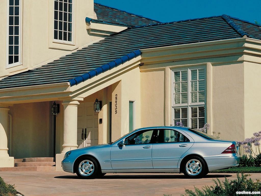 Foto 9 de Mercedes S-Klasse S320 W220 1998
