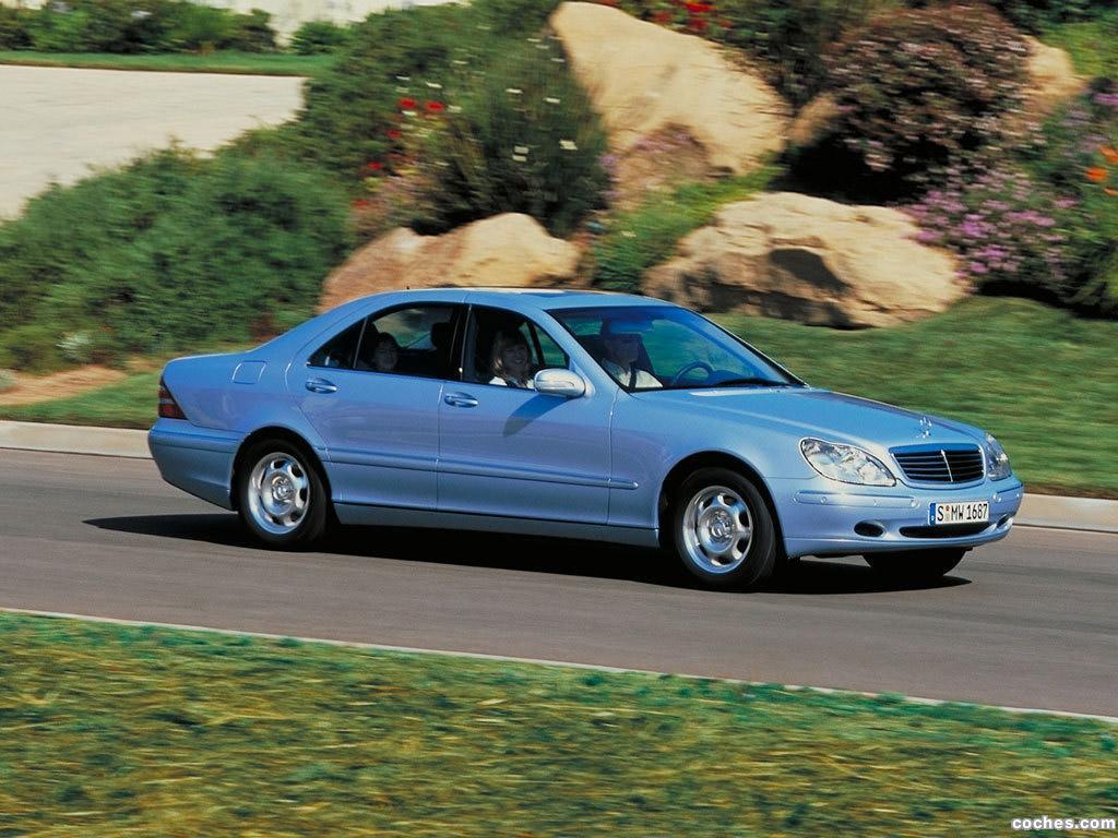 Foto 3 de Mercedes S-Klasse S320 W220 1998