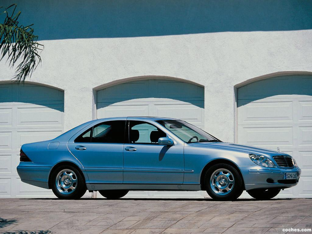 Foto 18 de Mercedes S-Klasse S320 W220 1998