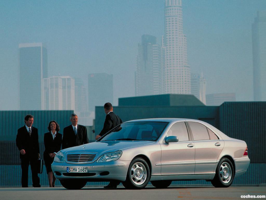 Foto 12 de Mercedes S-Klasse S320 W220 1998