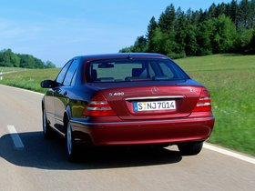 Ver foto 2 de Mercedes S-Klasse S400 CDI W220 1999