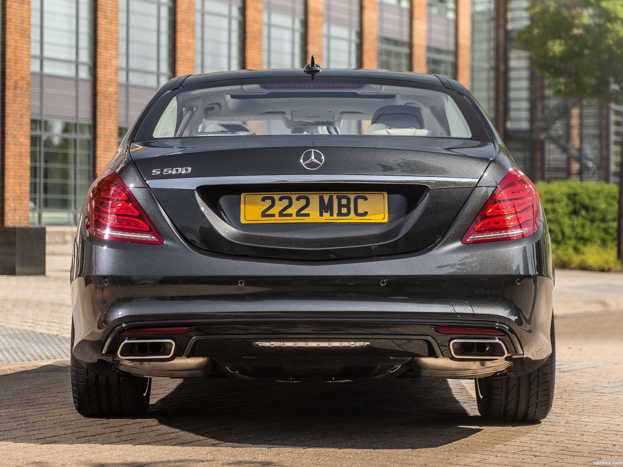 Foto 5 de Mercedes Clase S S500 AMG Sports Package W222 UK 2013