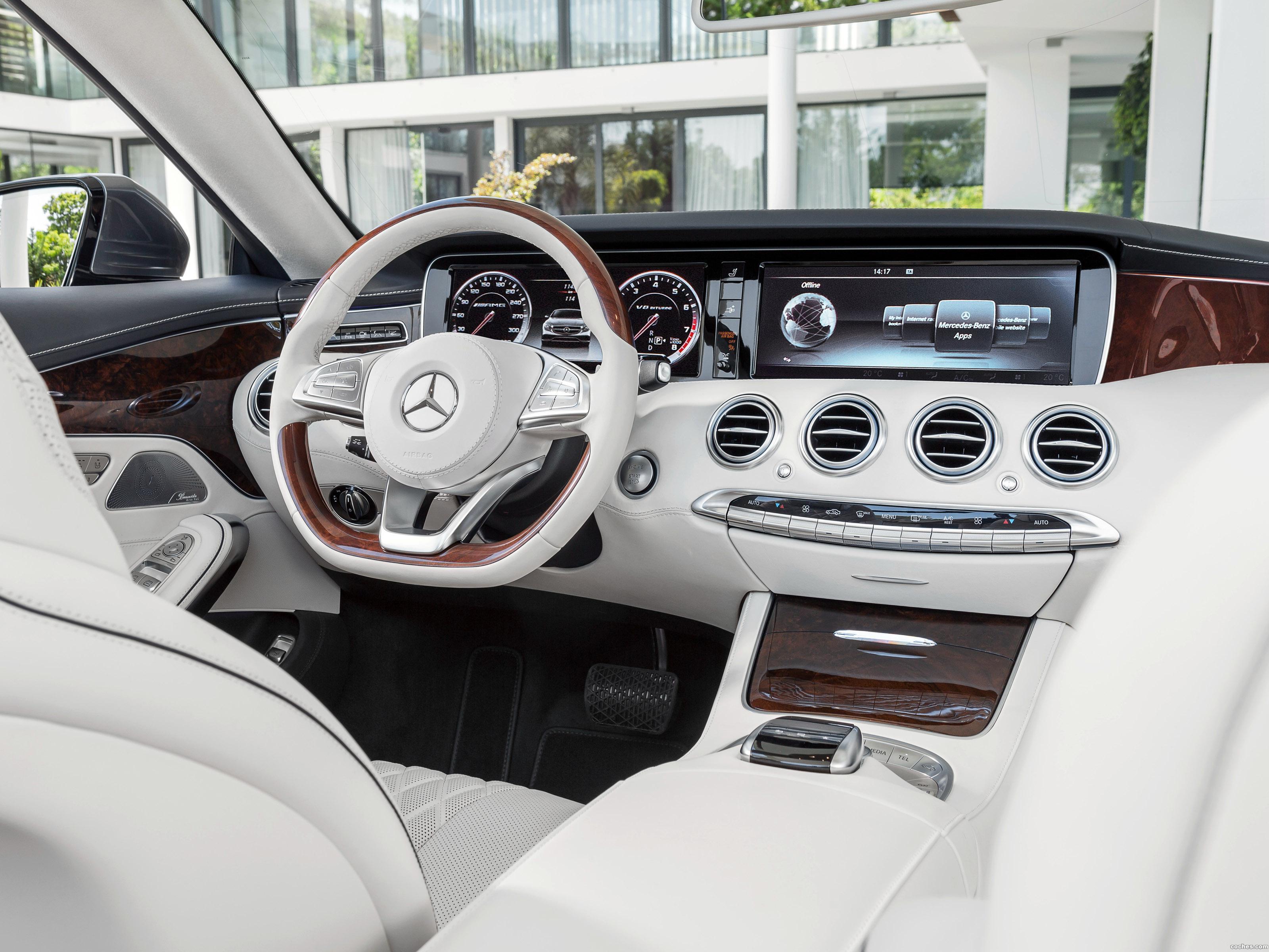 Foto 19 de Mercedes S500 Cabriolet A217 2015