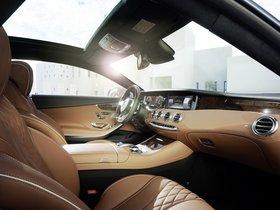 Ver foto 7 de Mercedes Clase S S500 Coupe 4MATIC C217 2014