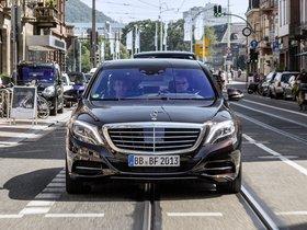 Ver foto 7 de Mercedes Clase S S500 Intelligent Drive Prototype 2013