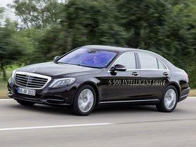 Ver foto 1 de Mercedes Clase S S500 Intelligent Drive Prototype 2013