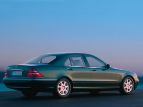 Ver foto 9 de Mercedes S-Klasse S500 W220 1998
