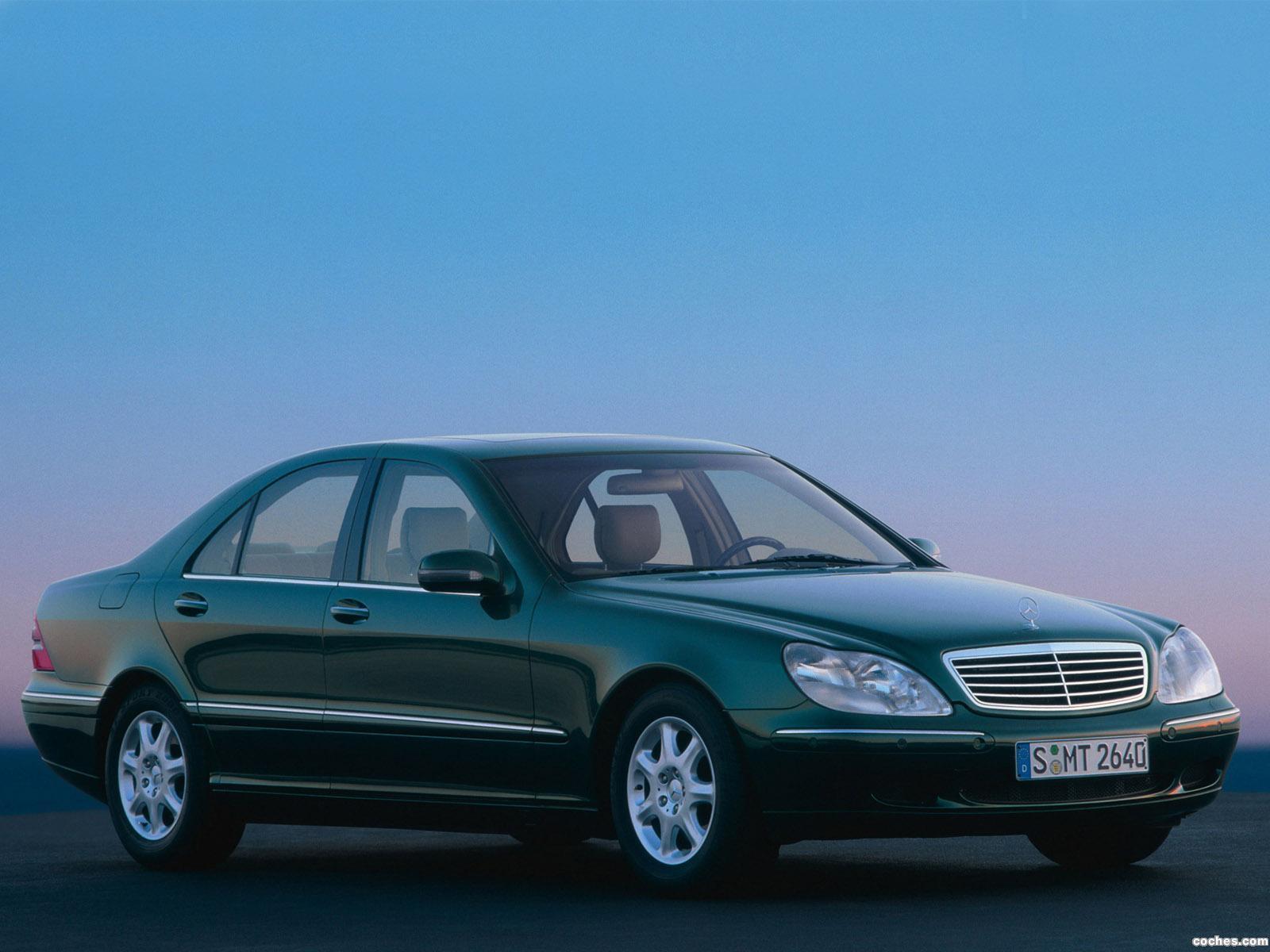 Foto 0 de Mercedes S-Klasse S500 W220 1998