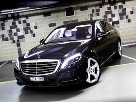 Fotos de Mercedes Clase S S500 W222 Australia 2013
