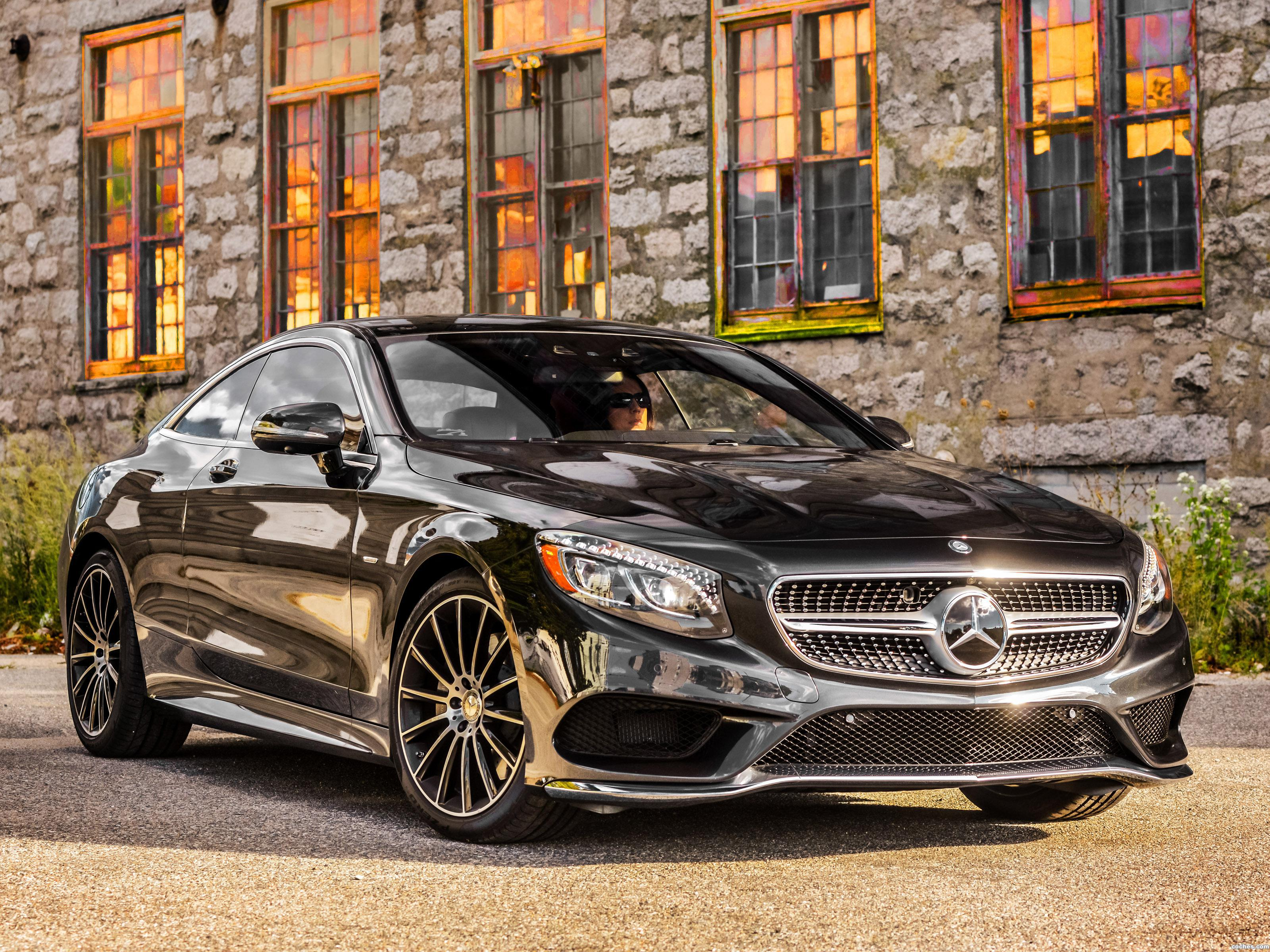 Foto 0 de Mercedes Clase S S550 4MATIC Coupe USA 2014