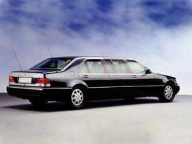 Ver foto 4 de Mercedes Clase S600 L Pullman Guard W140 1991