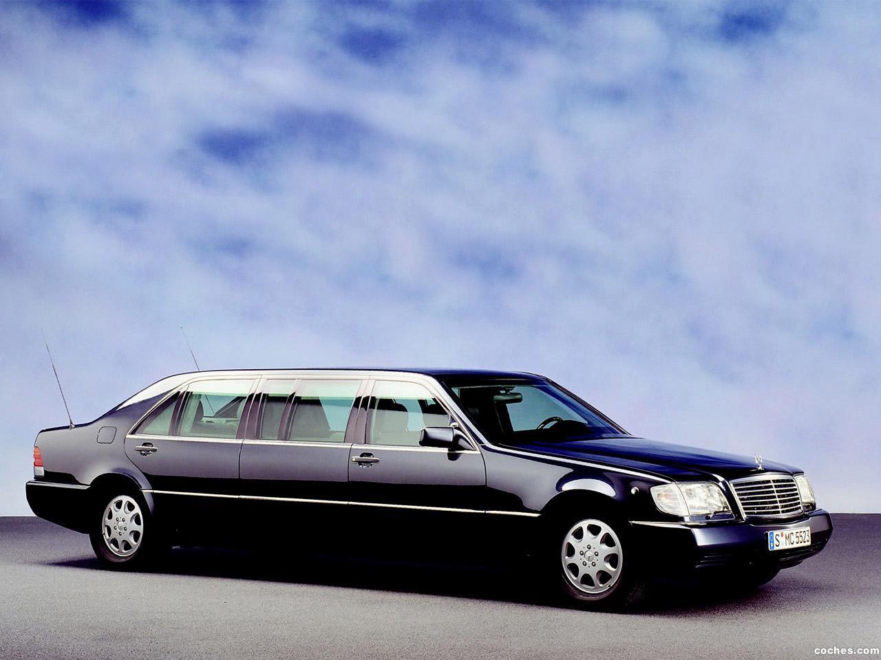 Foto 0 de Mercedes Clase S600 L Pullman Guard W140 1991