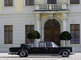 Ver foto 2 de Mercedes S-Klasse S600 Pullman Landaulet W100 1965