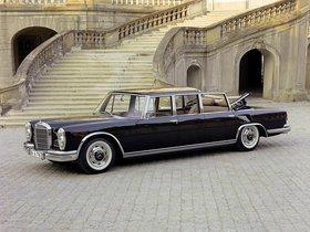 Fotos de Mercedes S-Klasse S600 Pullman Landaulet W100 1965