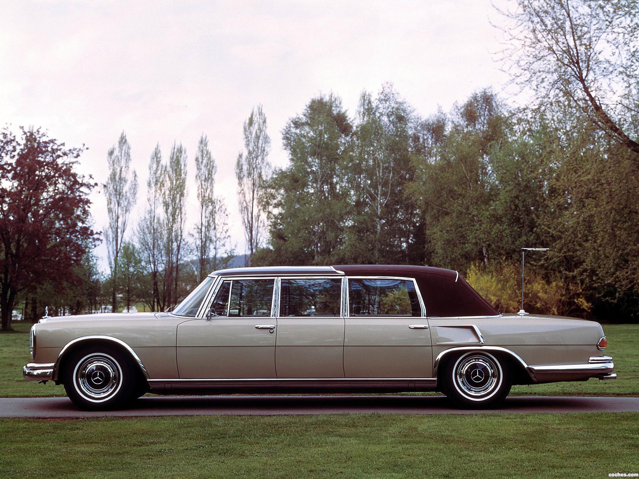 Foto 5 de Mercedes S-Klasse S600 Pullman Landaulet W100 1965