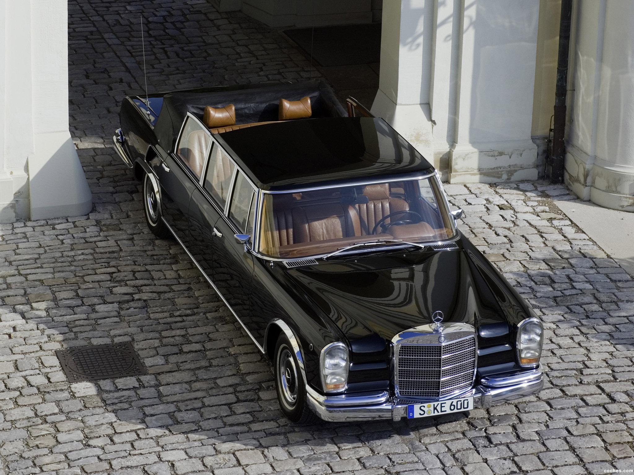 Foto 3 de Mercedes S-Klasse S600 Pullman Landaulet W100 1965