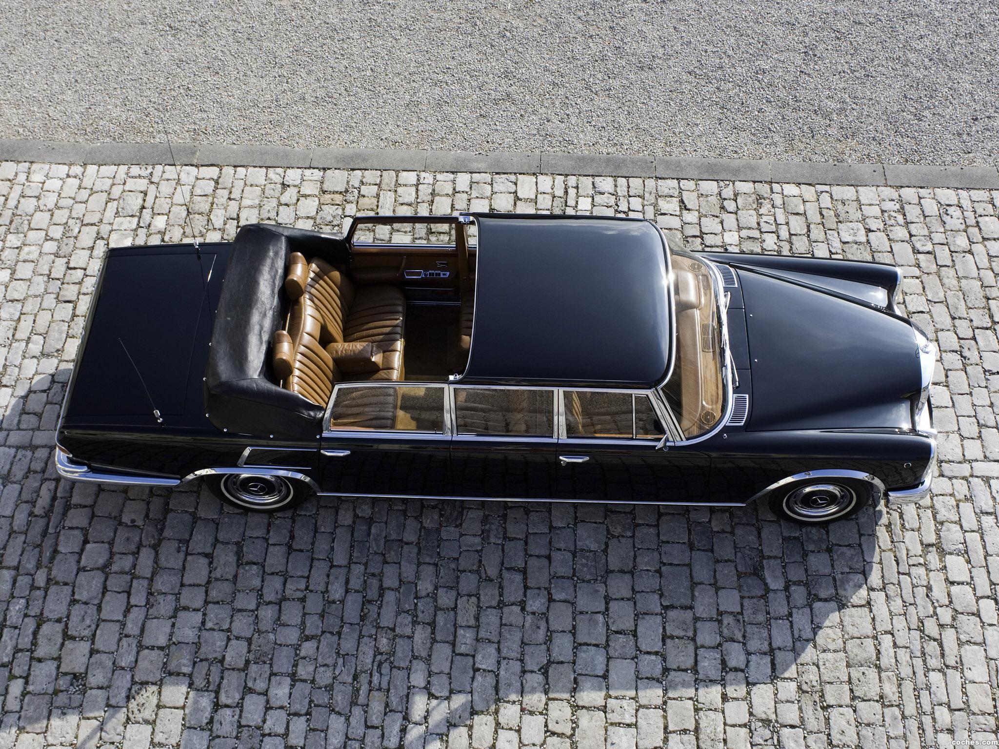 Foto 2 de Mercedes S-Klasse S600 Pullman Landaulet W100 1965