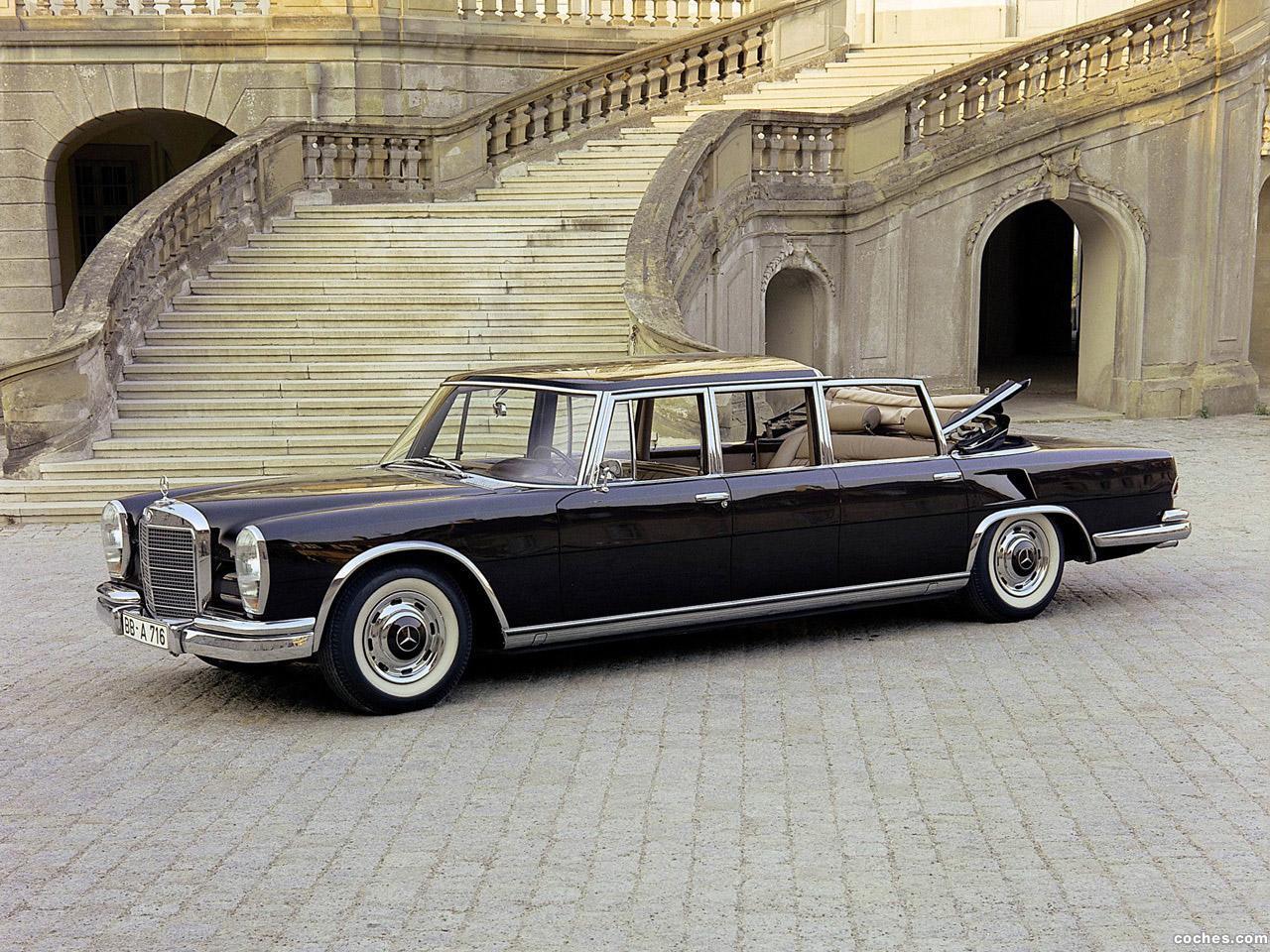 Foto 0 de Mercedes S-Klasse S600 Pullman Landaulet W100 1965