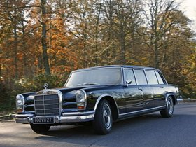 Fotos de Mercedes Clase S S600 Pullman W100 1964