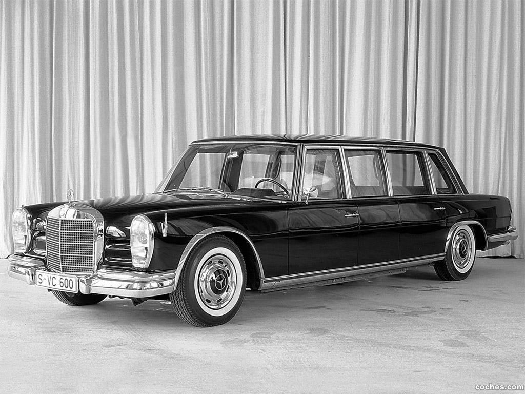 Foto 6 de Mercedes S-Klasse S600 Pullman W100 1964