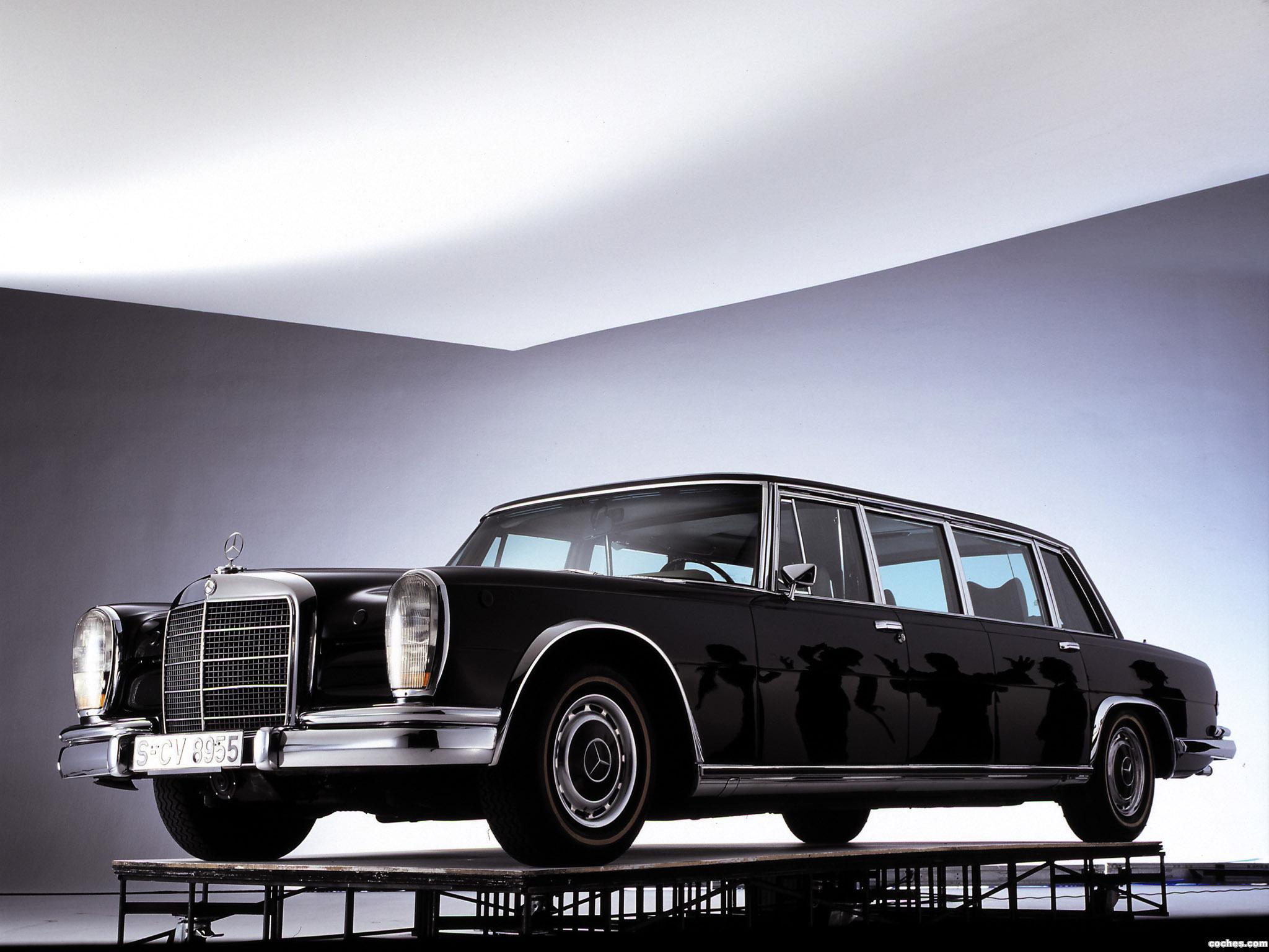 Foto 3 de Mercedes S-Klasse S600 Pullman W100 1964