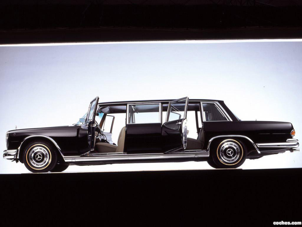 Foto 2 de Mercedes S-Klasse S600 Pullman W100 1964