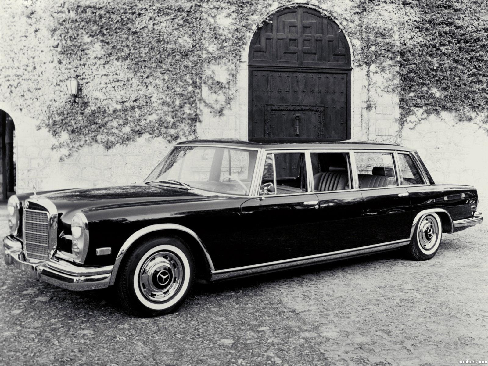 Foto 0 de Mercedes S-Klasse S600 Pullman W100 1964