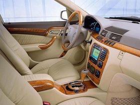 Ver foto 9 de Mercedes Clase S S600 Pullman W220 2000