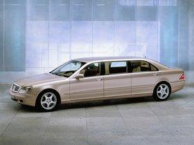 Fotos de Mercedes Clase S S600 Pullman W220 2000