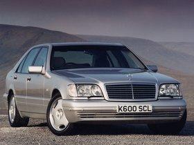 Fotos de Mercedes Clase S S600 W140 UK 1993