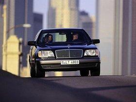 Ver foto 3 de Mercedes S-Klasse S600 W140 1993