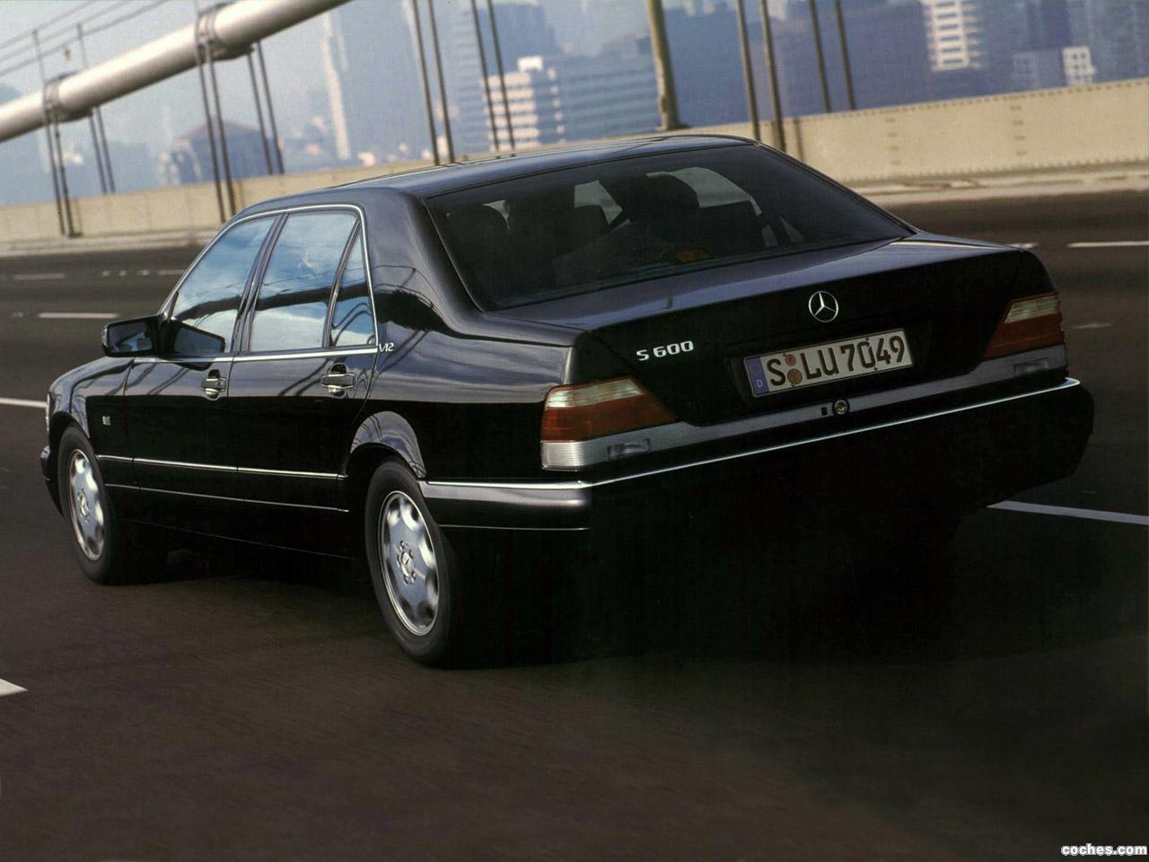 Foto 4 de Mercedes S-Klasse S600 W140 1993