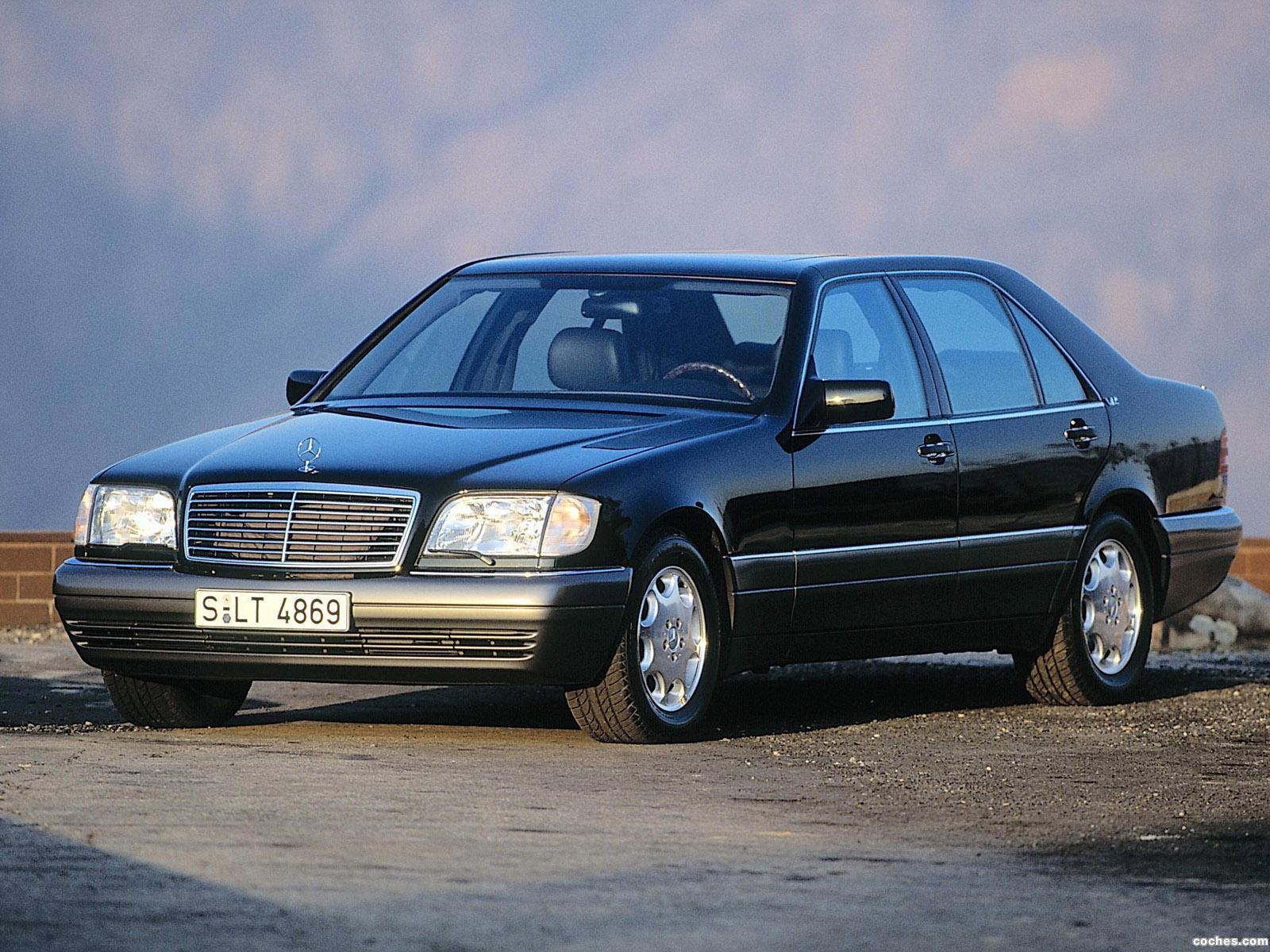 Foto 0 de Mercedes S-Klasse S600 W140 1993