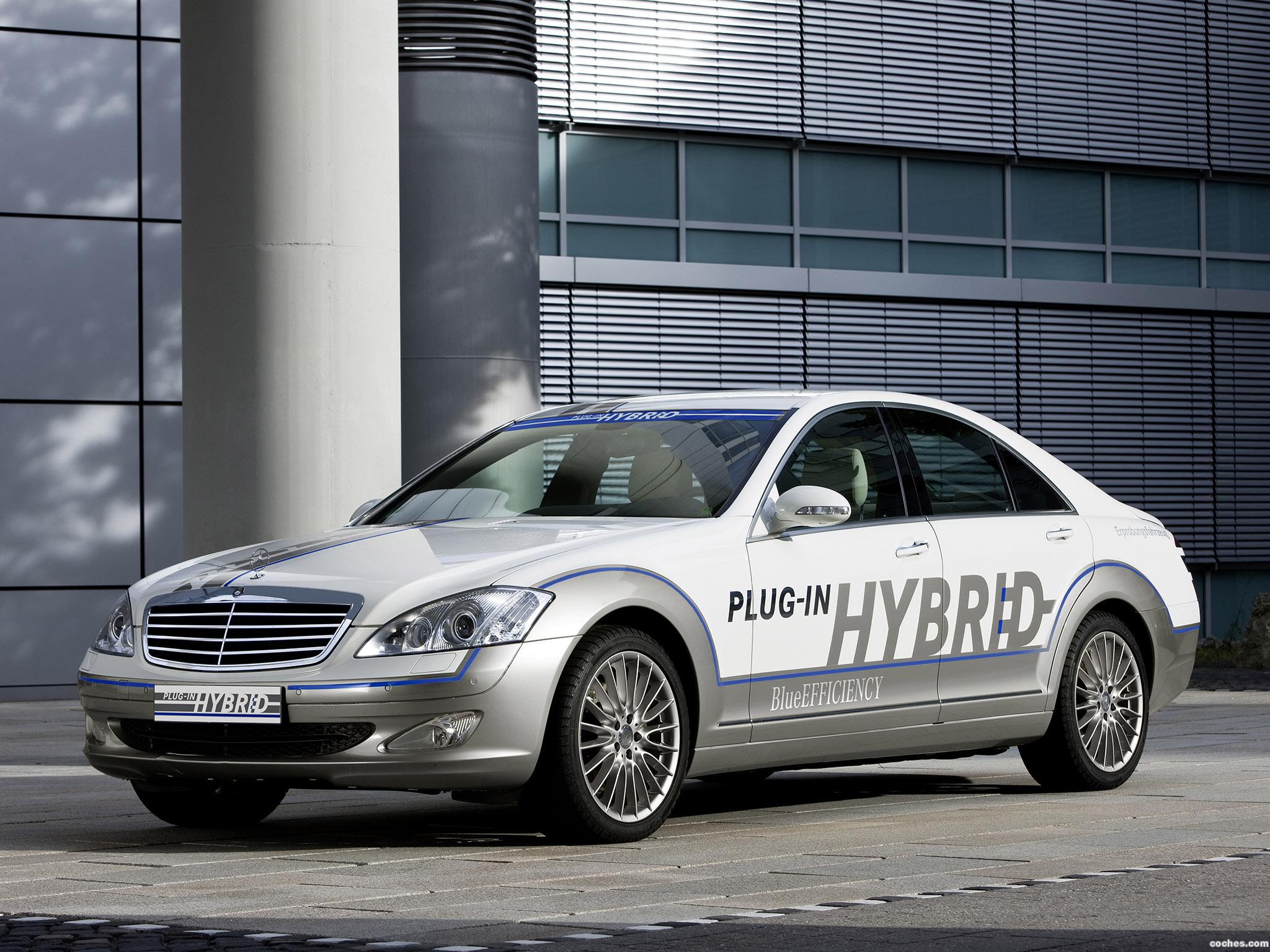 Foto 0 de Mercedes Clase S Vision S500 Plug in Hybrid 2009
