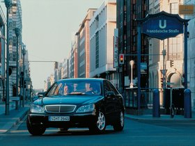 Ver foto 10 de Mercedes Clase S W220 1998