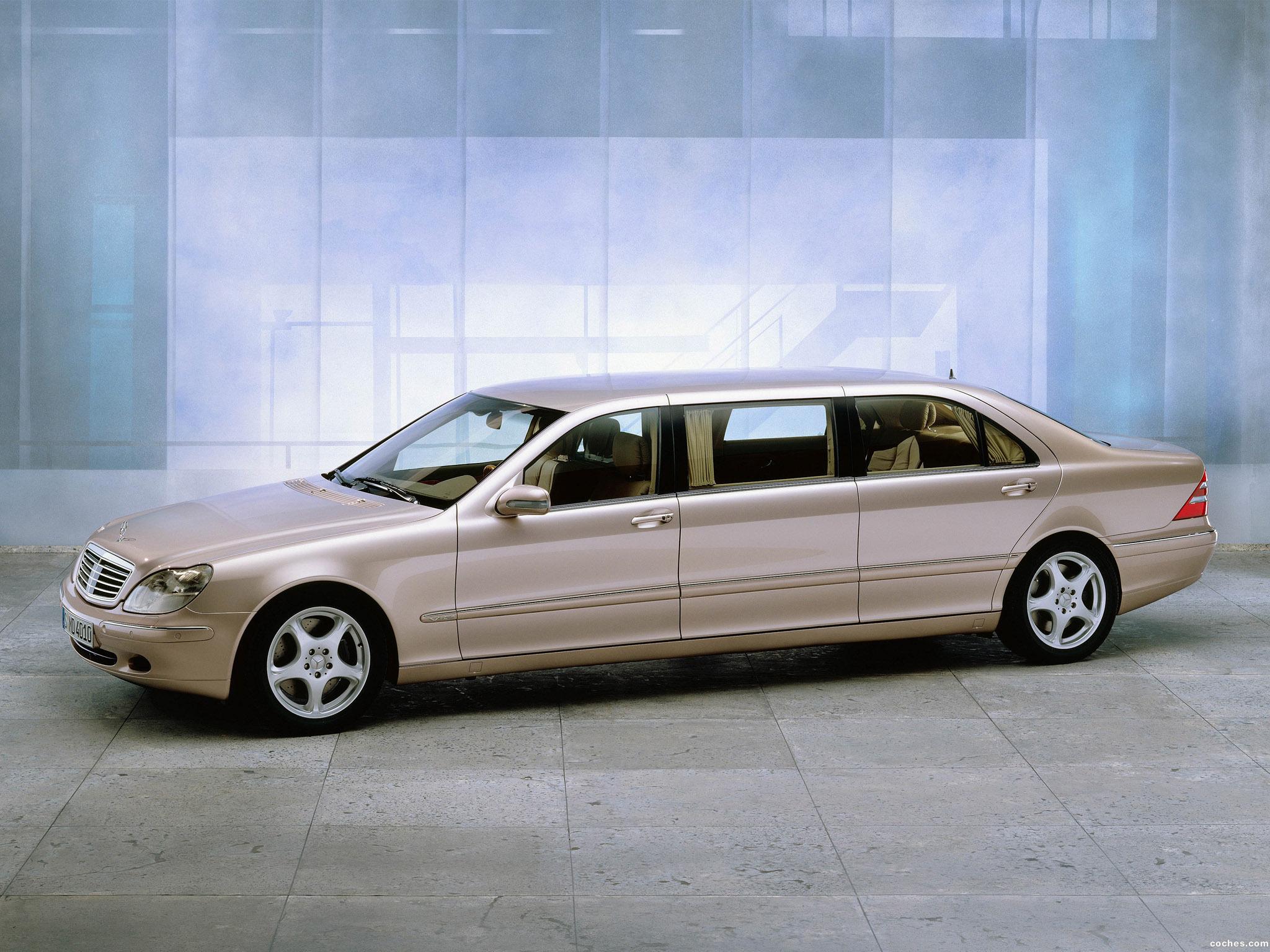 Foto 0 de Mercedes S600 Pullman W220 2002