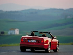 Ver foto 2 de Mercedes Clase SL 320 1993