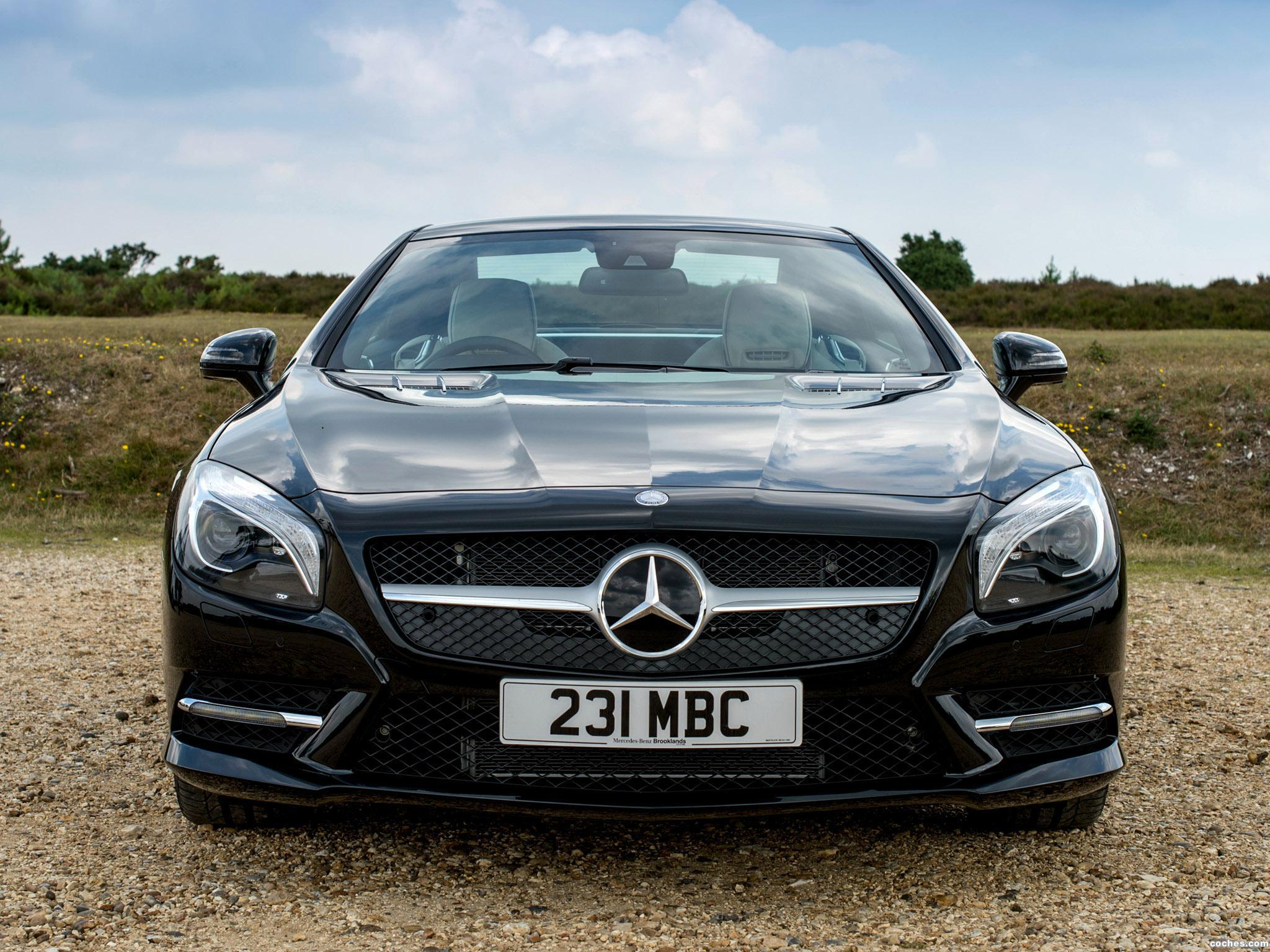 Foto 0 de Mercedes Clase SL 400 AMG Sports Package R231 UK 2014