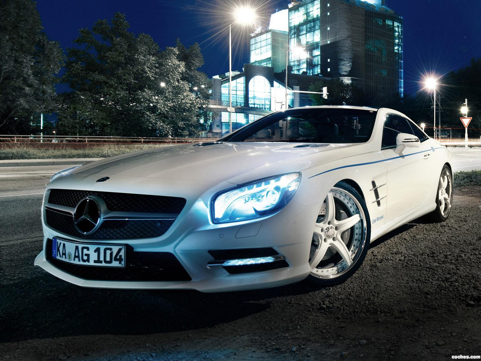 Foto 0 de Mercedes Clase SL 500 Graf Weckerle 2012