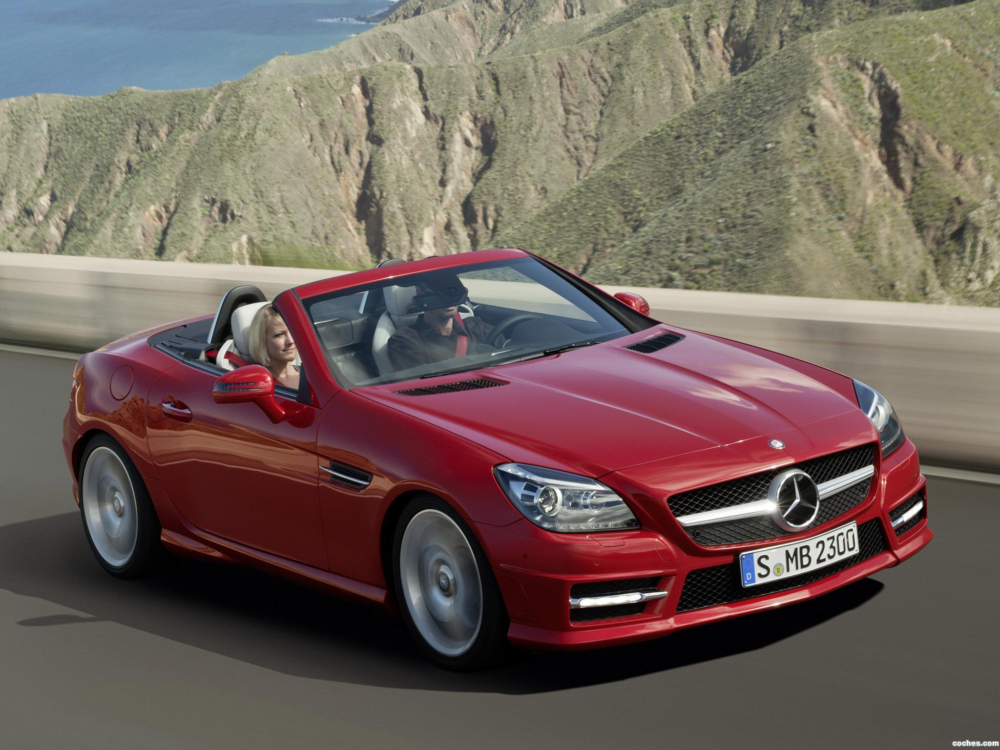 fotos de mercedes slk 350 amg sports package r172 2011. Black Bedroom Furniture Sets. Home Design Ideas