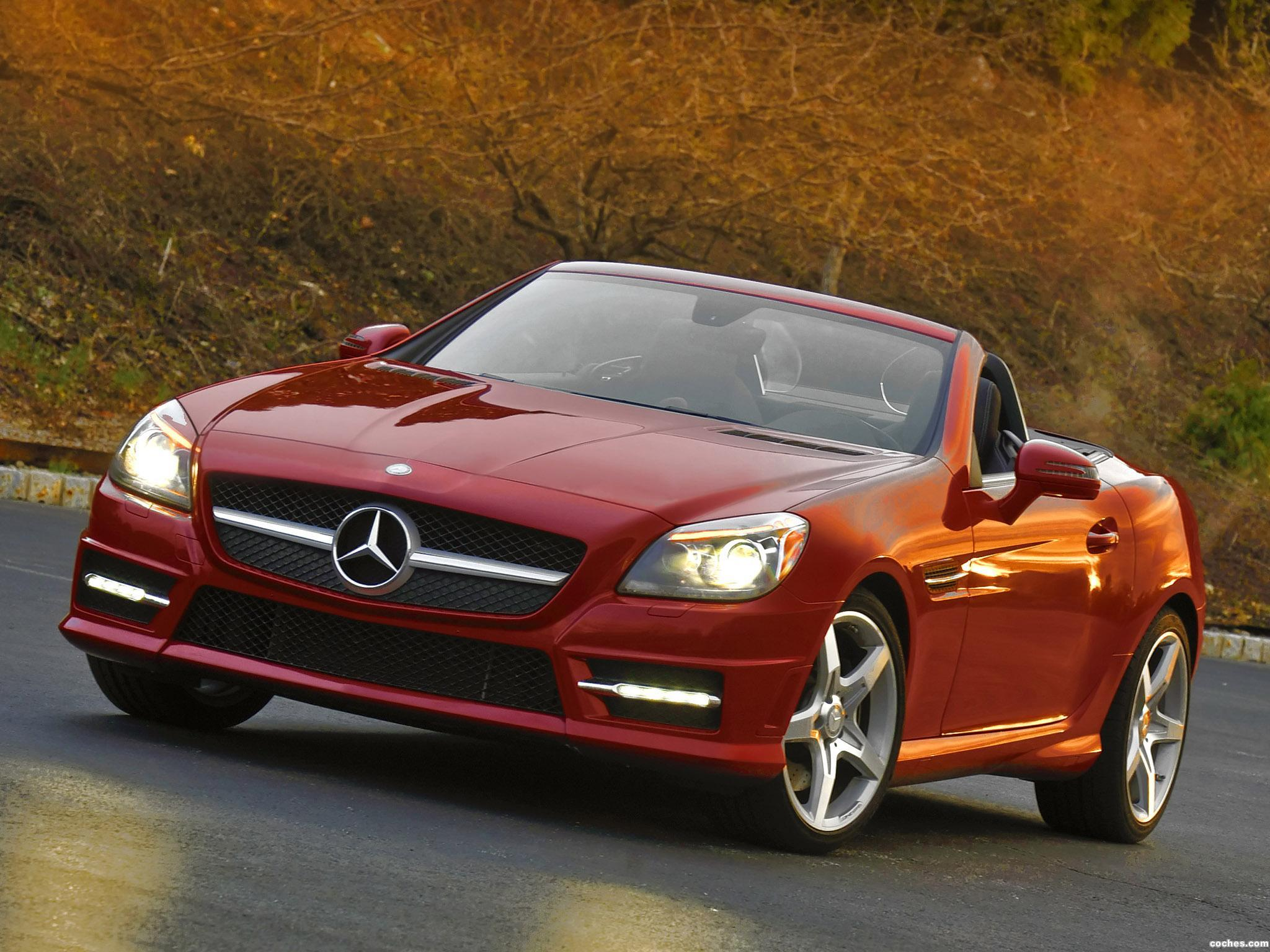 Foto 0 de Mercedes SLK 350 AMG Sports Package USA 2011