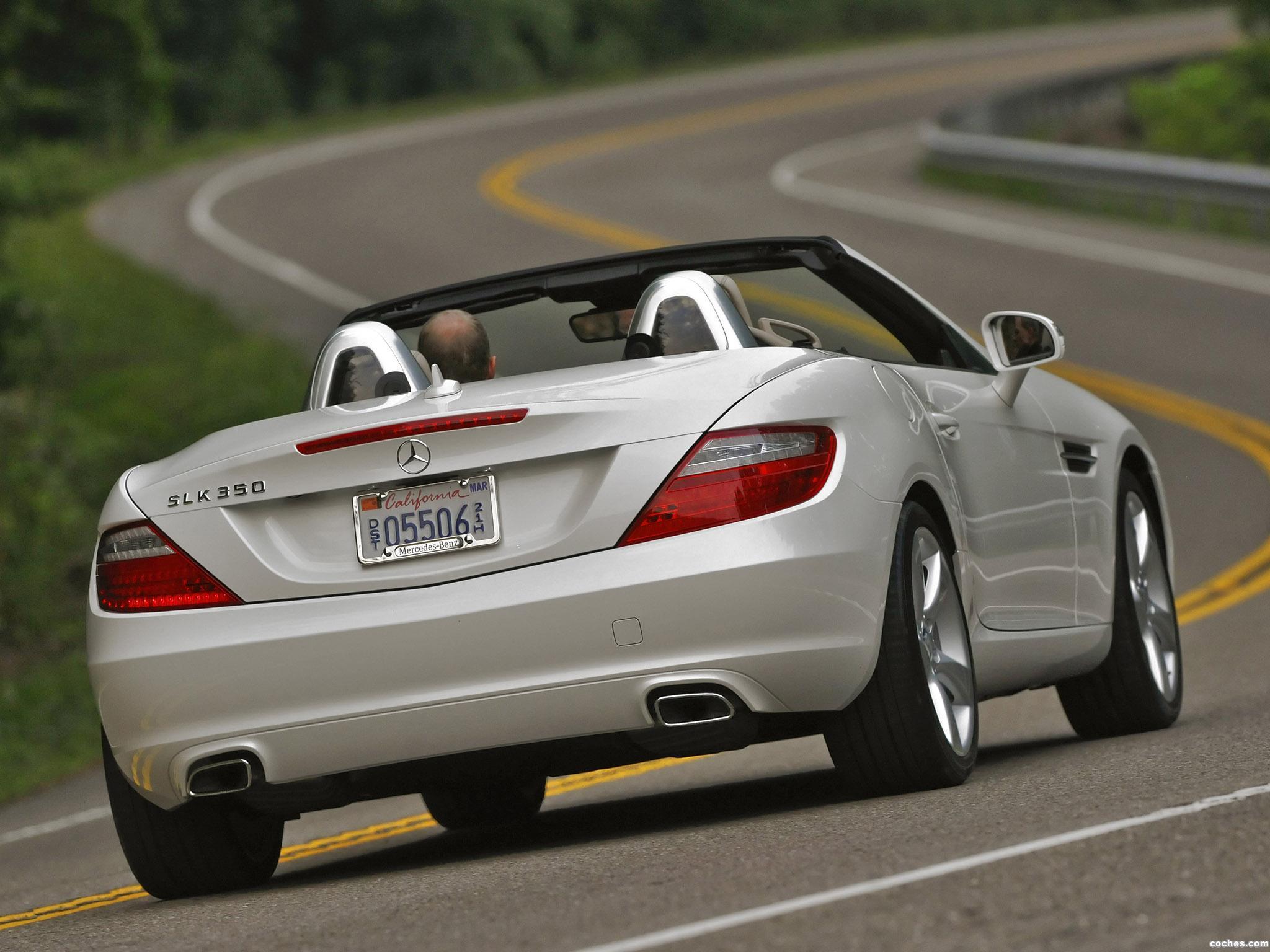Foto 36 de Mercedes Clase SLK 350 USA 2011